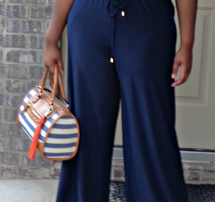 Navy Jumpsuit Birmingham Fashion Blogger